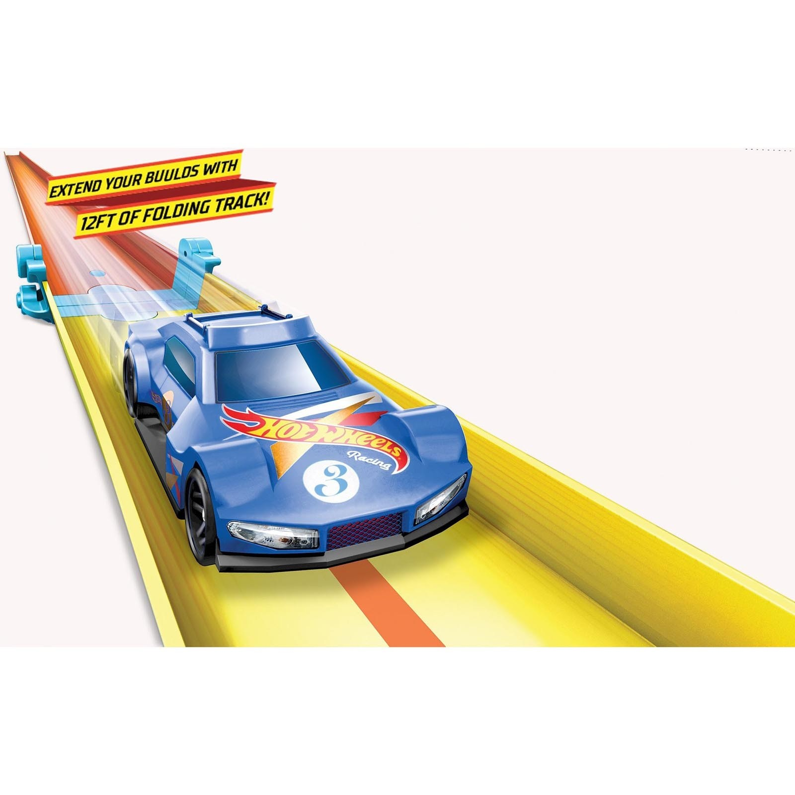 Conjunto de Pista Dobrável Hot Wheels - Track & Builder Unlimited - GLC91
