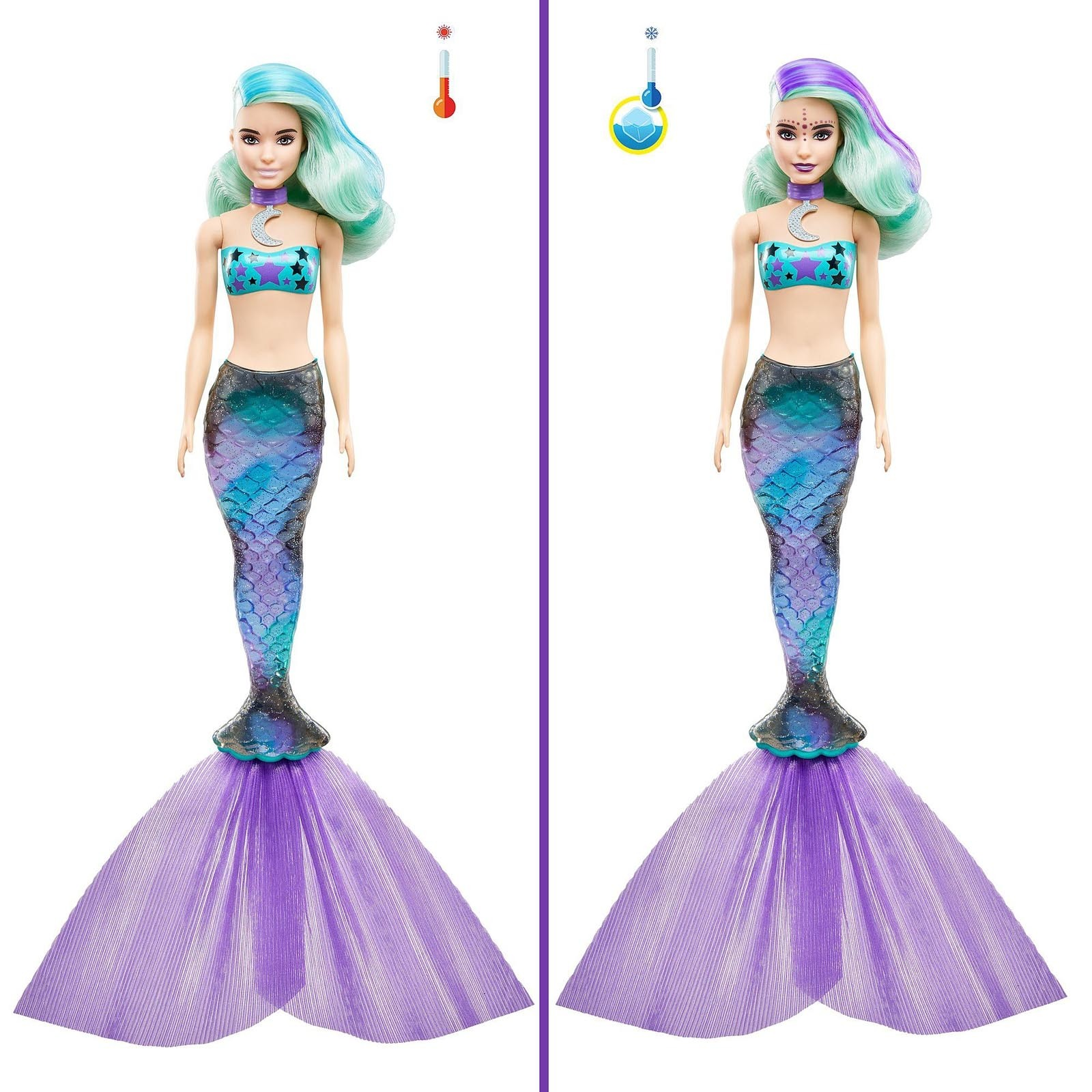 Barbie Color Reveal - Série 4 Sereias - GTP43