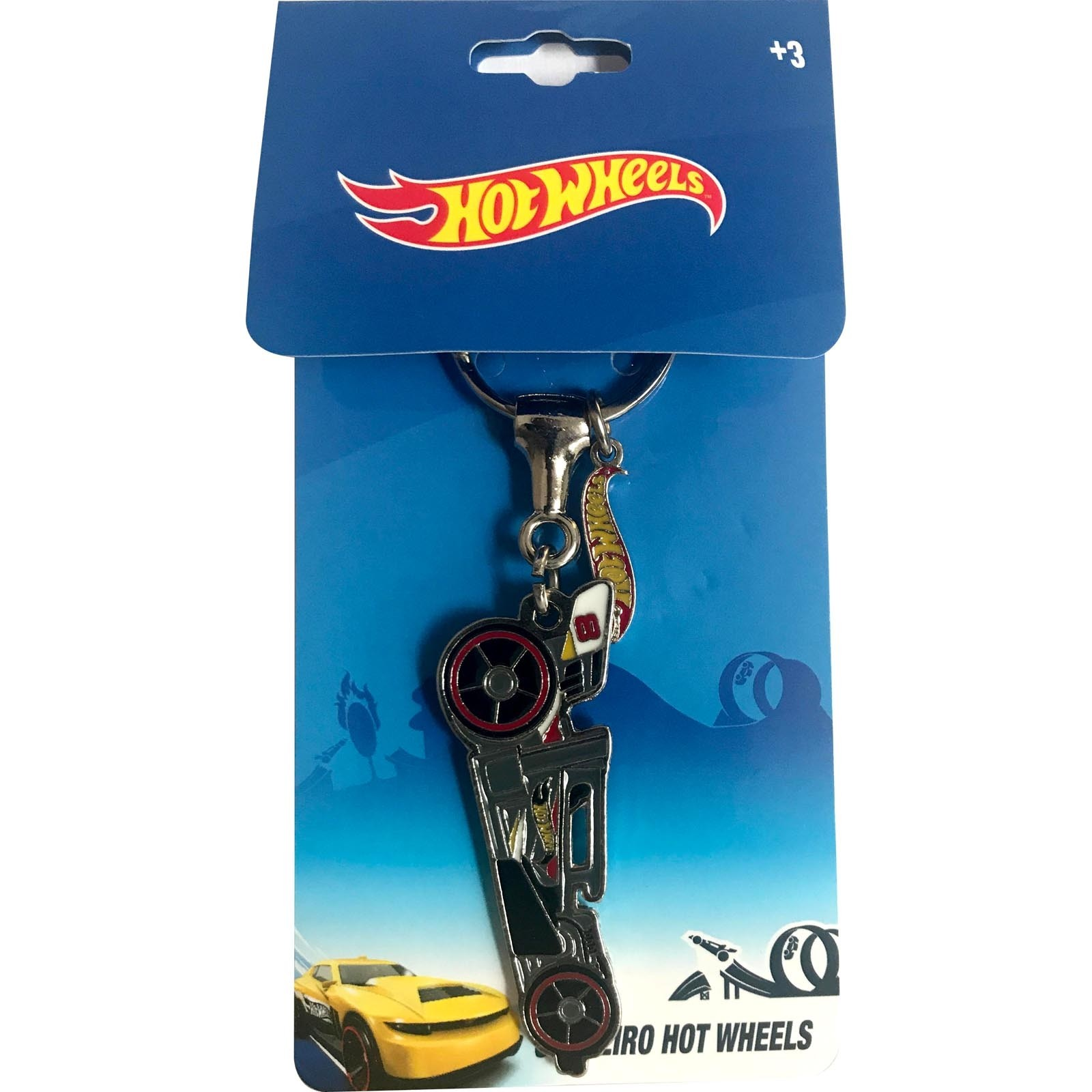 Chaveiro Hot Wheels - Dragster #8