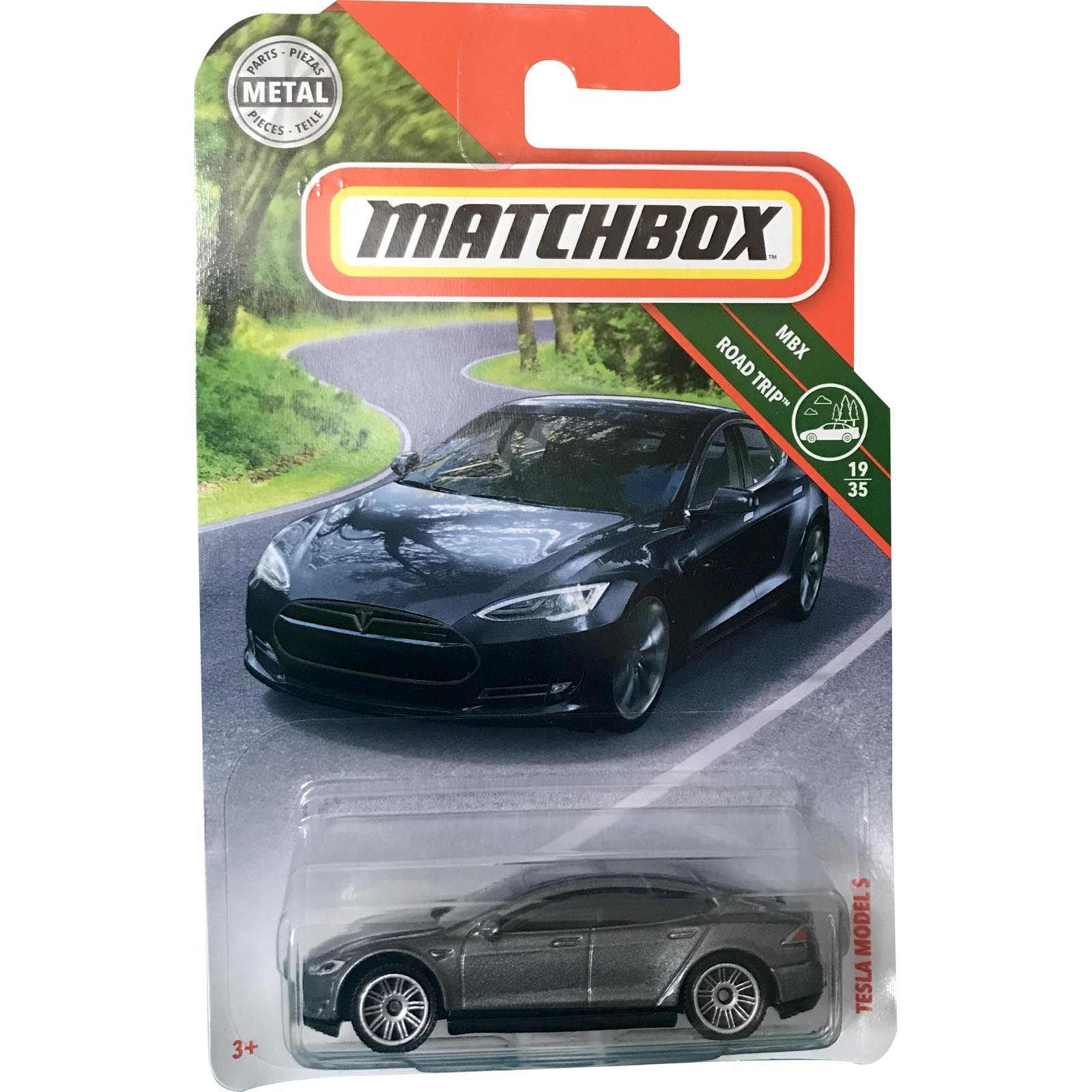 Matchbox - Tesla Model S - FHH70