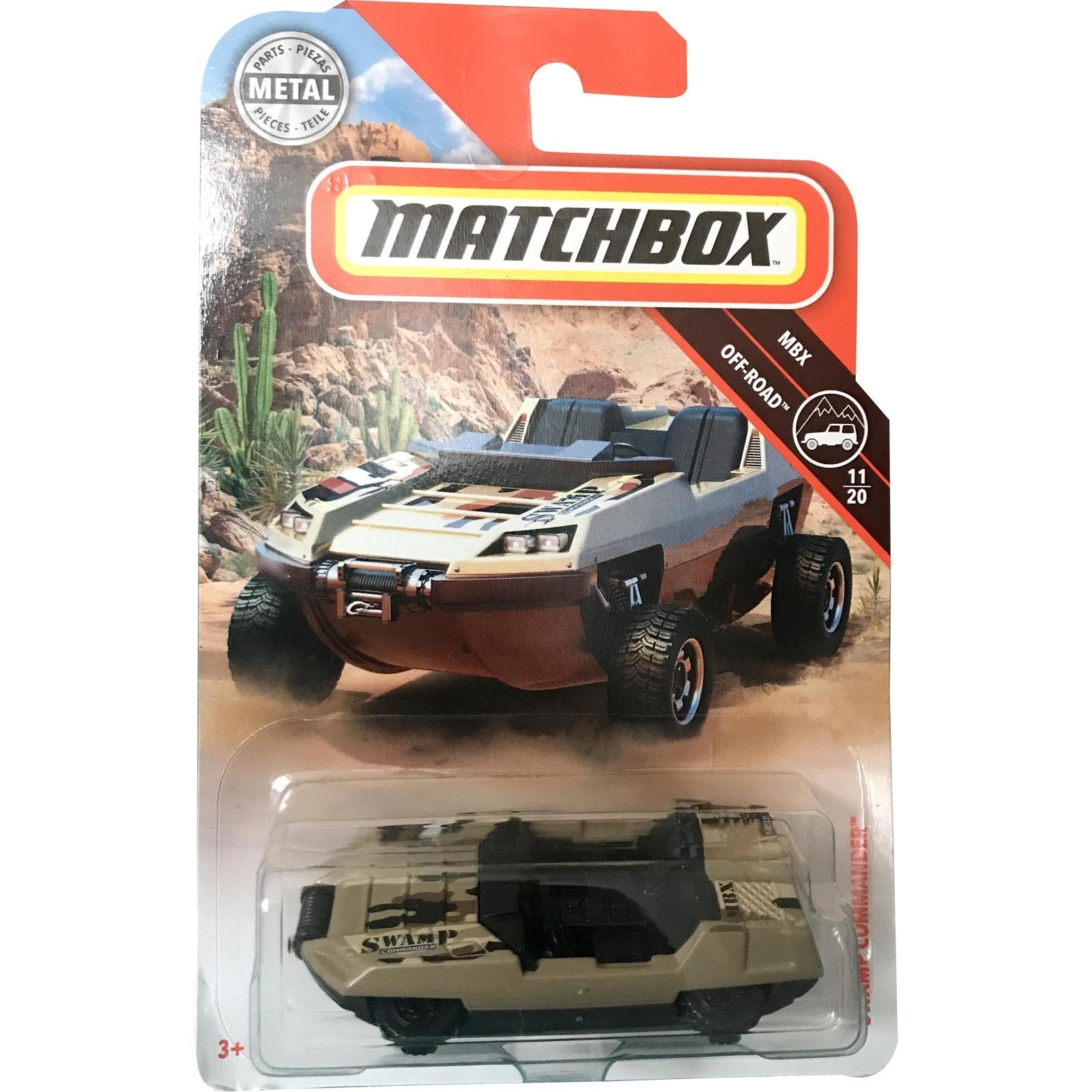 Matchbox - Swamp Commander - FHH40