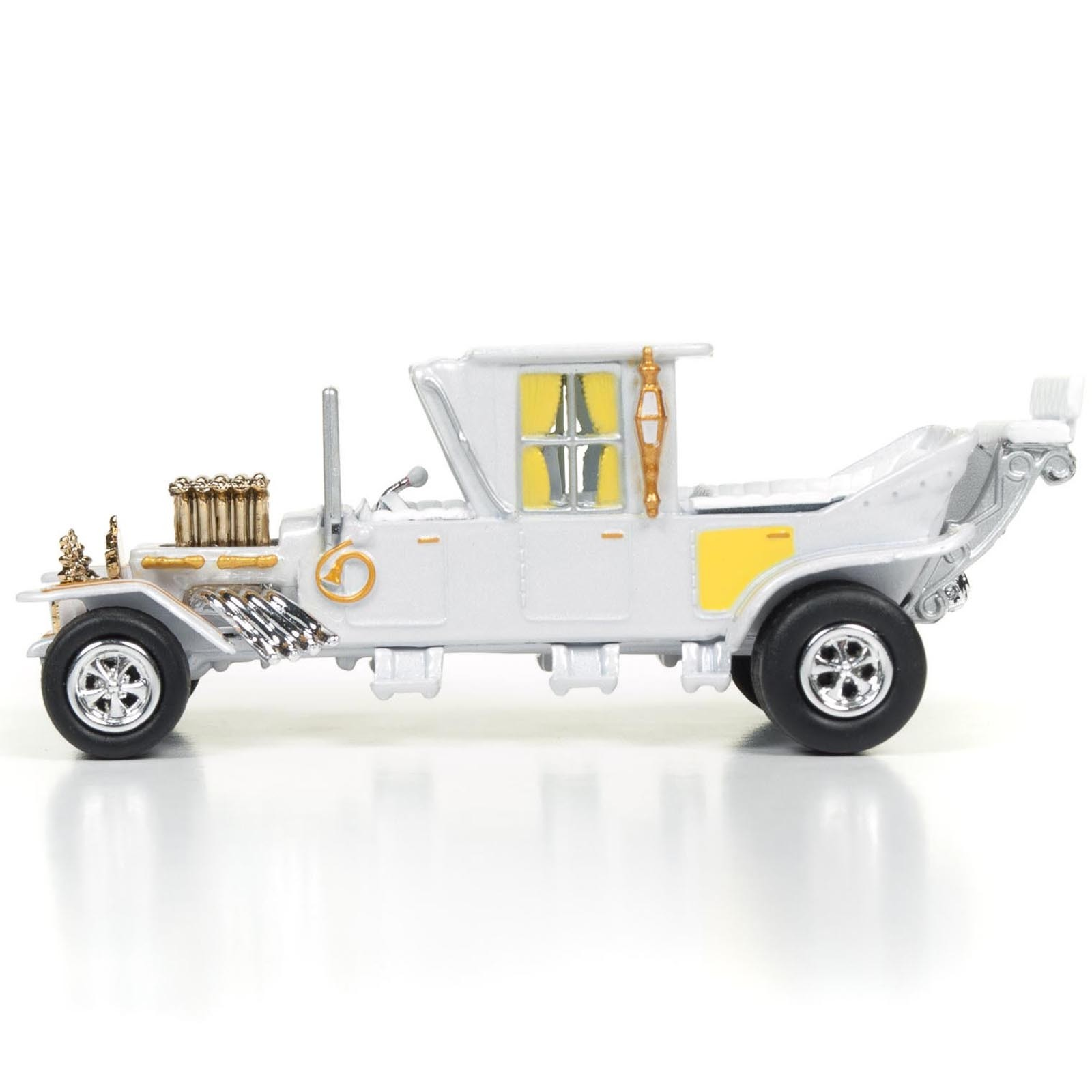 Miniatura - 1:64 - The Barris Koach - Carro Os Monstros - White Lightning - Silver Screen - Johnny Lightning