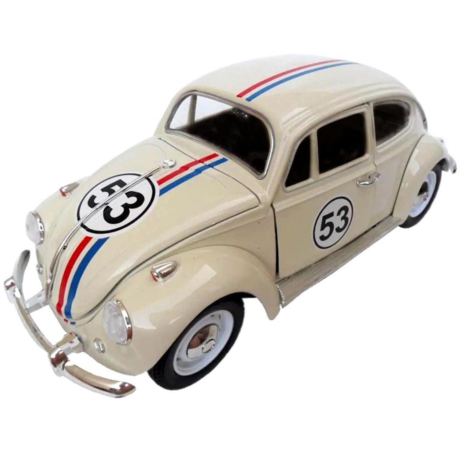 Miniatura - 1:34 - Volkswagen Bettle Fusca Herbie