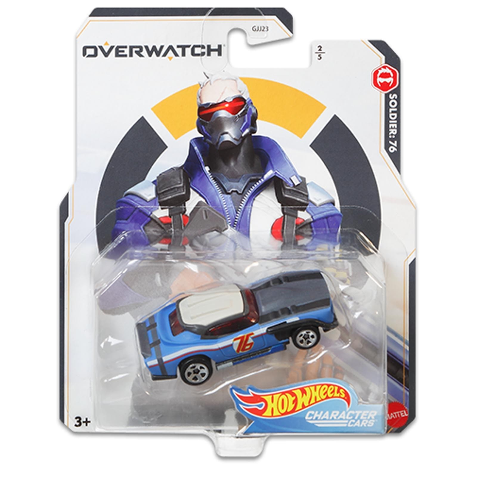 Hot Wheels - Soldier: 76 - Overwatch - Character Cars - GJJ24