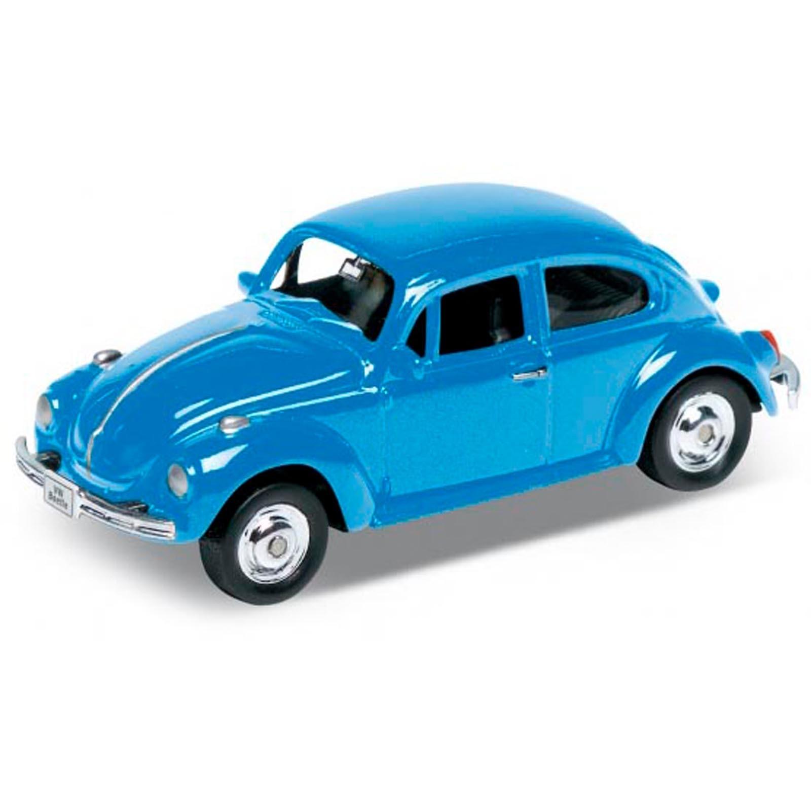 Miniatura - 1:64 - Volkswagen Beetle / Fusca - California Minis - Welly